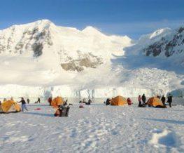 Camping activite de l'Antarctique   Les Mondes Polaires