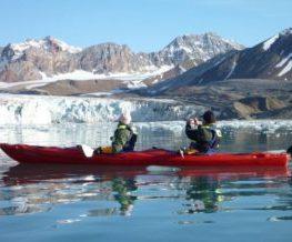 kayak activite possible dans les regions polaires   Les Mondes Polaires