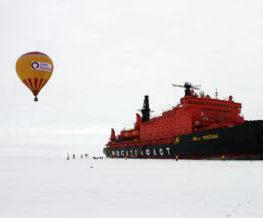 Montgolfiere activite du pole Nord   Les Mondes Polaires