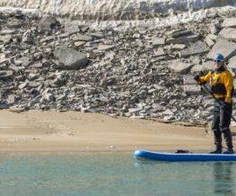 Stand-up paddle activite des regions polaires Arctique et Antarctique   Les Mondes Polaires