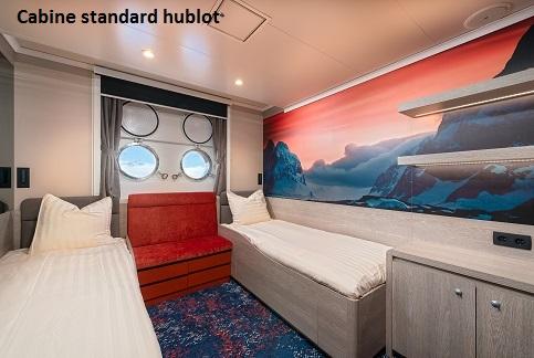 Cabine hublot du bateau d'expédition Hondius - Région polaire | Les Mondes Polaires