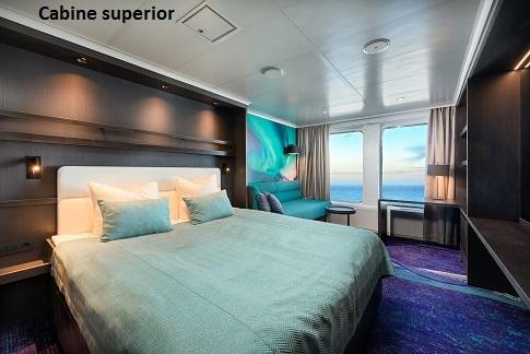 Cabine superior du bateau d'expédition Hondius - Région polaire | Les Mondes Polaires