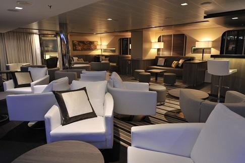 Lounge du bateau d'expédition Boral - Région polaire | Les Mondes Polaires