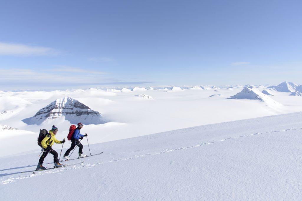 Ski de randonnee au Spitzberg - Svalbard | Les Mondes Polaires