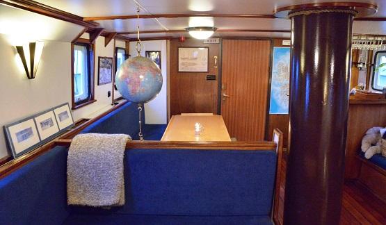 Bar du voilier d'expédition Noorderlicht - Région polaire | Les Mondes Polaires
