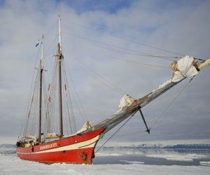 Exterieur du voilier d'expédition Noorderlicht - Région polaire | Les Mondes Polaires