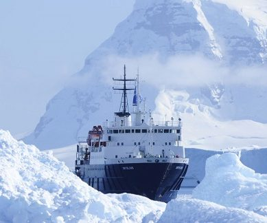 Exterieur du bateau d'expédition Ortelius - Région polaire | Les Mondes Polaires