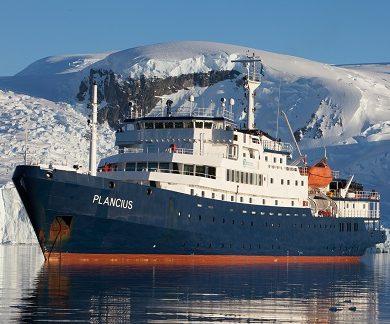 Exterieur du bateau d'expédition Plancius - Région polaire | Les Mondes Polaires