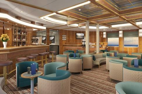 Lounge du bateau d'expédition Hebridean Sky - Région polaire | Les Mondes Polaires