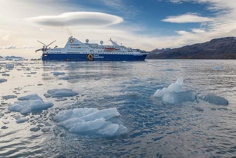 Exterieur du bateau d'expédition Ocean Diamond - Région polaire | Les Mondes Polaires