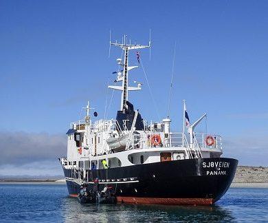 Exterieur du bateau d'expédition Grand Large - Région polaire | Les Mondes Polaires