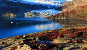 Relief de plaine et de montagne - Groenland | Les Mondes Polaires