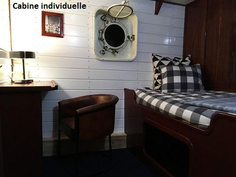 Cabine individuelle du bateau d'expedition Balto - région polaire | Les Mondes Polaires